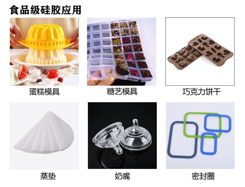 食品级硅胶用途