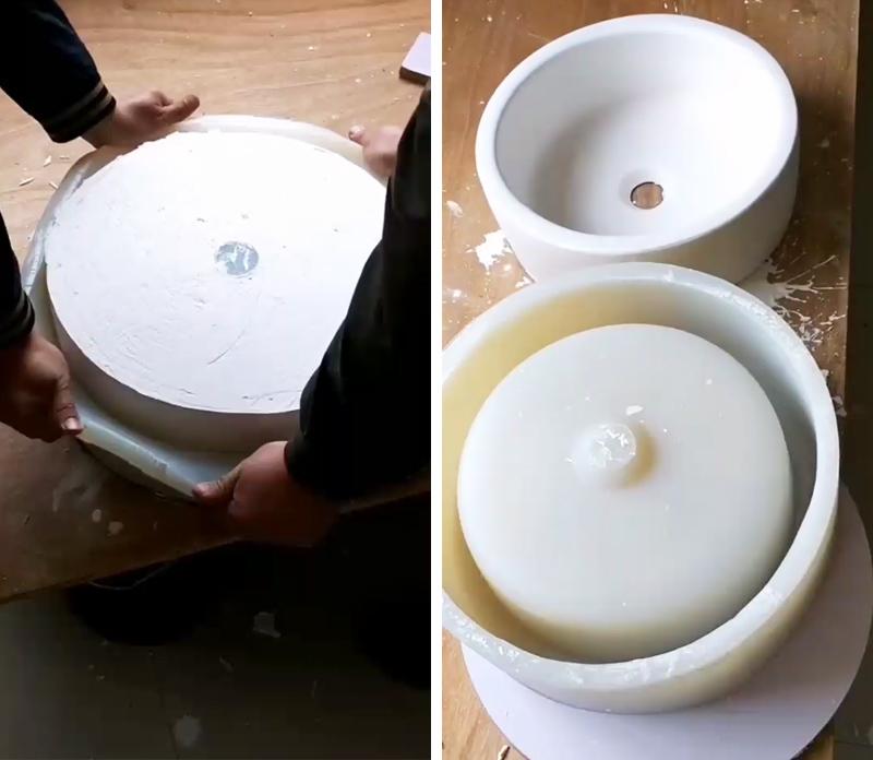 洗手盆硅胶模具