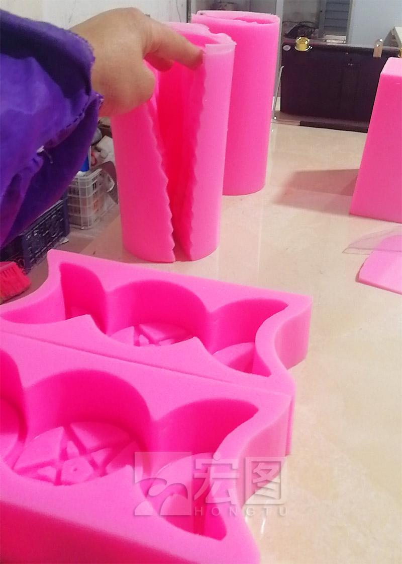 香薰蜡烛硅胶模具应用
