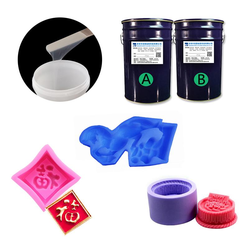 1:1双组份模具硅橡胶应用